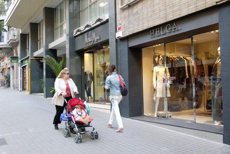 Eje comercial sant gervasi barnavasi comercio de barcelona - Tanatori sant gervasi barcelona ...