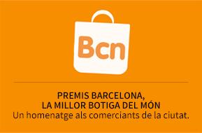 """Premis """"Barcelona, la millor botiga del món"""". Un homenatge als comerciants de la ciutat."""