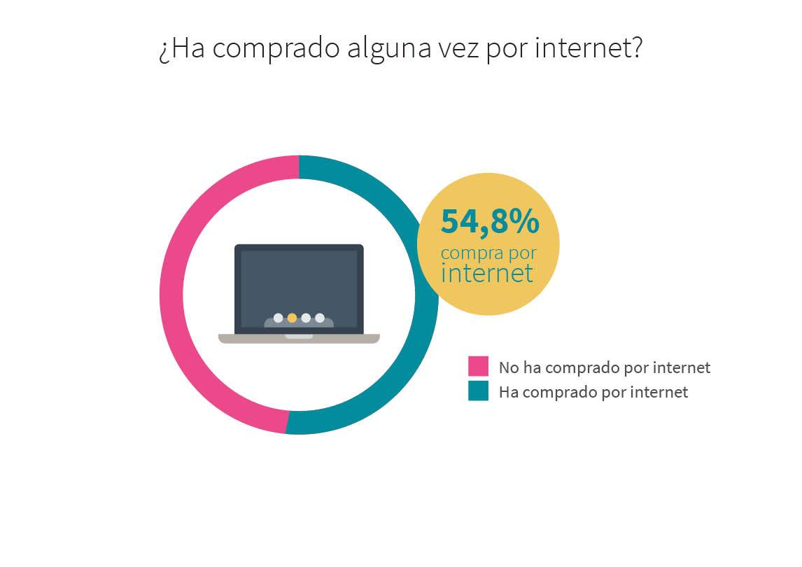 ¿Ha comprado alguna vez por internet?