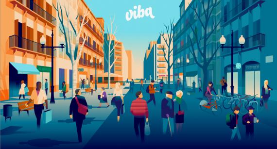 Viba Barcelona, la nova targeta de fidelització de clients dels comerços i els mercats de Barcelona