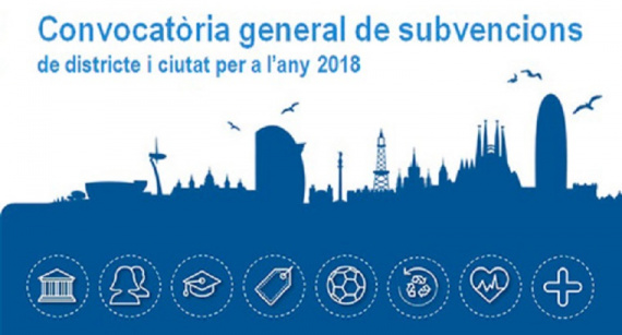 Convocatòria de subvencions 2018 per al comerç