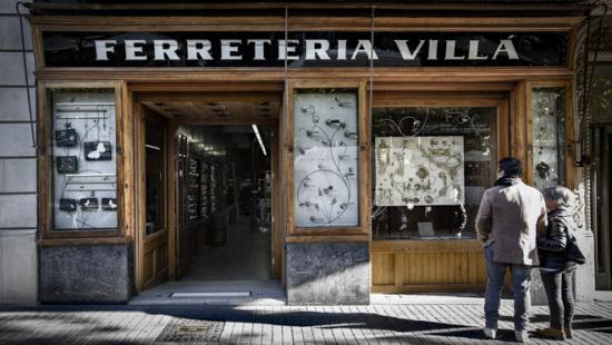 Ferreteria Villà. Establecimiento emblemático de Barcelona