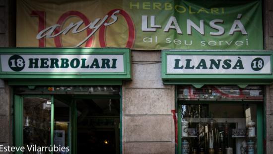 Herbolari Llansà. Establecimiento emblemático de Barcelona