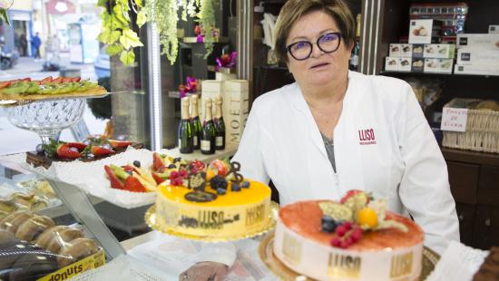 Aurora Muñoz, propietària de la pastisseria Lillo Lis
