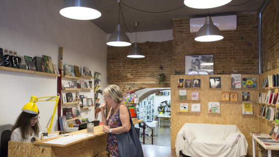 La llibreria 'La Carbonera'