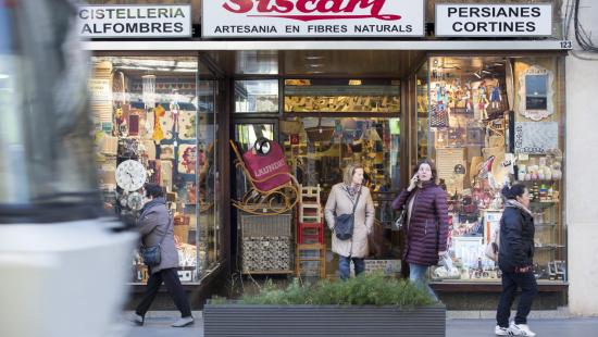 Façana de l'establiment CIstelleria Siscart
