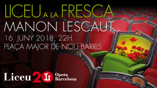 Commerce and Culture Year brings opera to Nou Barris with an open-air Liceu.
