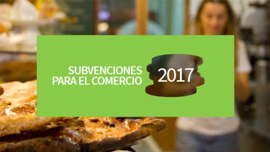 Subvenciones para el comercio 2017