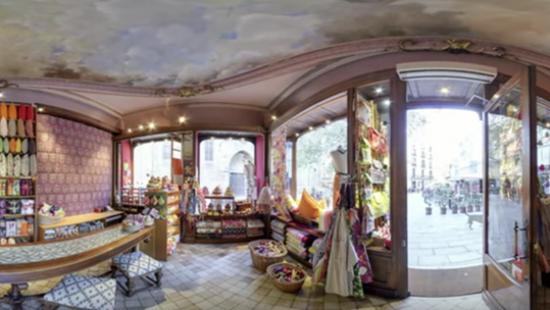 Coses de casa, el tèxtil en ple barri Gòtic