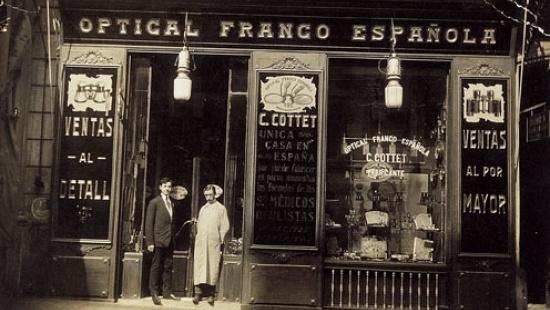 Imatge d'arxiu de l'establiment cedida per Cottet Òptics