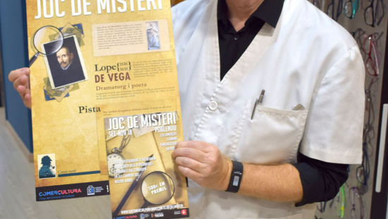 Jordi Vendrell, optician
