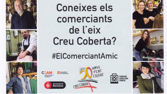 Imatge de la campanya #ElComerciantAmic