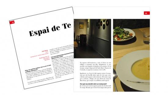 """Sample about """"La ruta del comerç divers a Barcelona"""""""