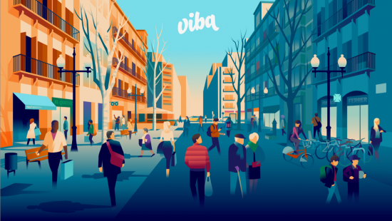 Viba Barcelona, a customer loyalty card for the first time in the city.