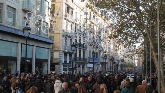 Calendario de apertura comercial en festivos en Barcelona 2015
