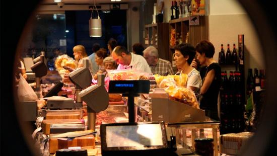 Un comercio de aves y embutidos. Un ejemplo que hace de Barcelona la mejor tienda del mundo