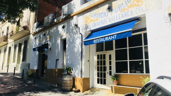 Façana del restaurant