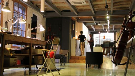 Local comercial dedicat a la música que va emprendre els seu negoci amb l'ajut de Comerç, Consum i Mercats de l'Ajuntament de Barcelona
