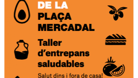 Activitats a la plaça del Mercadal de Sant Andreu, amb la cita del Comerç al carrer