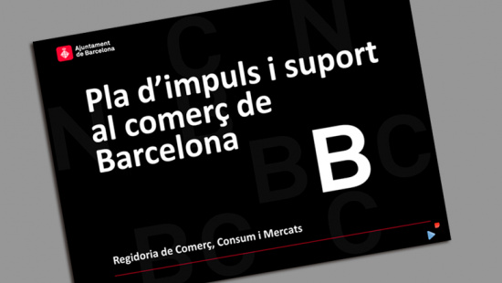 Front cover of Barcelona-Commerce Promotion and Support Plan  2013-2016