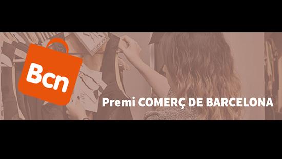 Cartell Premi comerç de Barcelona