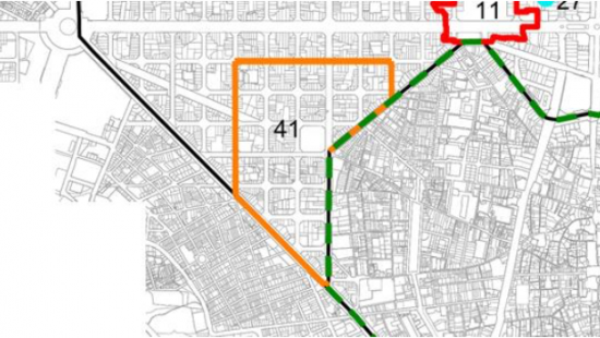 Àmbit del barri de Sant Antoni regulat per la normativa