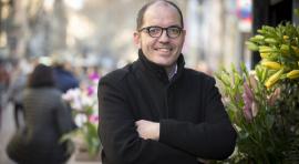 Fermín Villar, president d'Amics de la Rambla