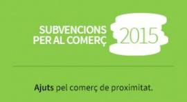 Subvencions per al comerç 2015