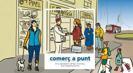 Els comerços de l'Eixample poden rebre un assessorament professional i gratuït amb el servei 'Comerç a punt'