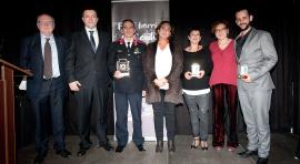 Los Mossos d'Esquadra, premiados por el comercio