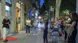 """Opera in the Shops"" (Òpera al comerç) performance's in the Sant Antoni shopping hub"