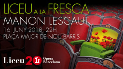 "Commerce and Culture Year's activities are bringing Giacomo Puccini's opera ""Manon Lescaut"" to Nou Barris' Plaça Major this coming Saturday, 16 June"