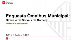 Omnibus municipal Comerç. Desembre 2019