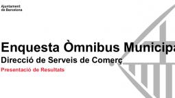Omnibus municipal Comerç. 2020