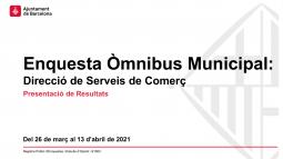 Òmnibus municipal 1a oleada de 2021