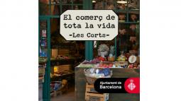 """Llibre """"El comerç de tota la vida"""" (Les Corts)"""