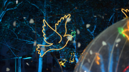 Barcelona switches on its Christmas lights on Thursday, 23 November, in the Rambla