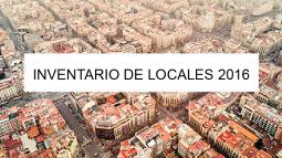 Barcelona dispone de un inventario de locales de actividades económicas
