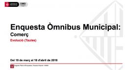 [PDF-catalán] Òmnibus municipal March 2018
