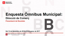 """Front page of the """"Òmnibus Municipal"""". March 2017"""