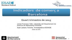 "Image from the front page of the ""Barcelona Commercial Indicators (ICOB)"" document"