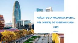 Anàlisi de la maduresa digital del comerç de Poblenou 2016-2019