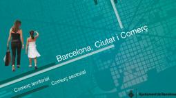 """Portada del llibre """"Barcelona, ciutat i comerç"""""""