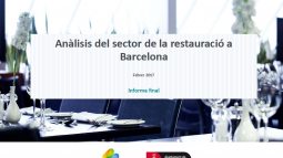 Analysis of the restaurant sector in Barcelona