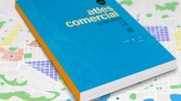 Imagen de la portada del Atlas comercial de Barcelona