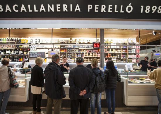 Menció especial a la millor iniciativa particular: Bacallaneria Perelló