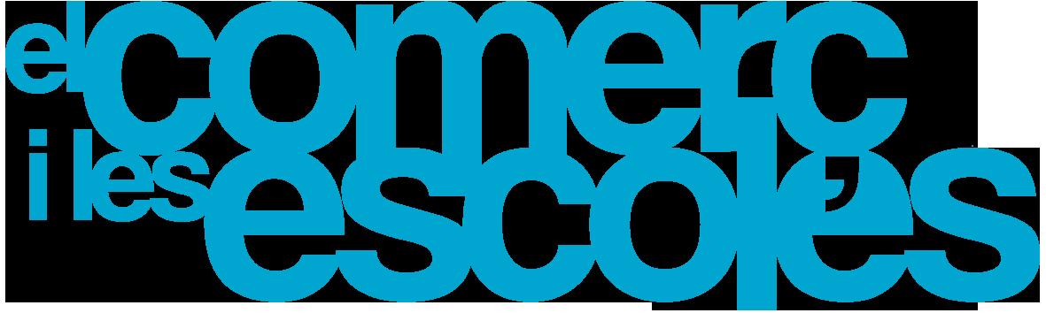 Logo comerç i escoles