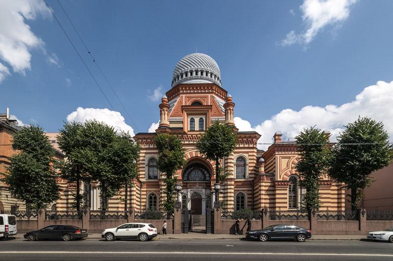 Gran Sinagoga de Sant Petersburg.