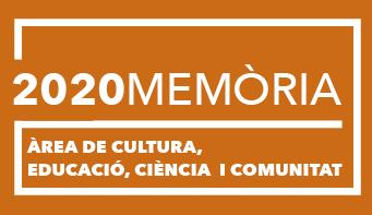 2020 - Memòria de l'àrea