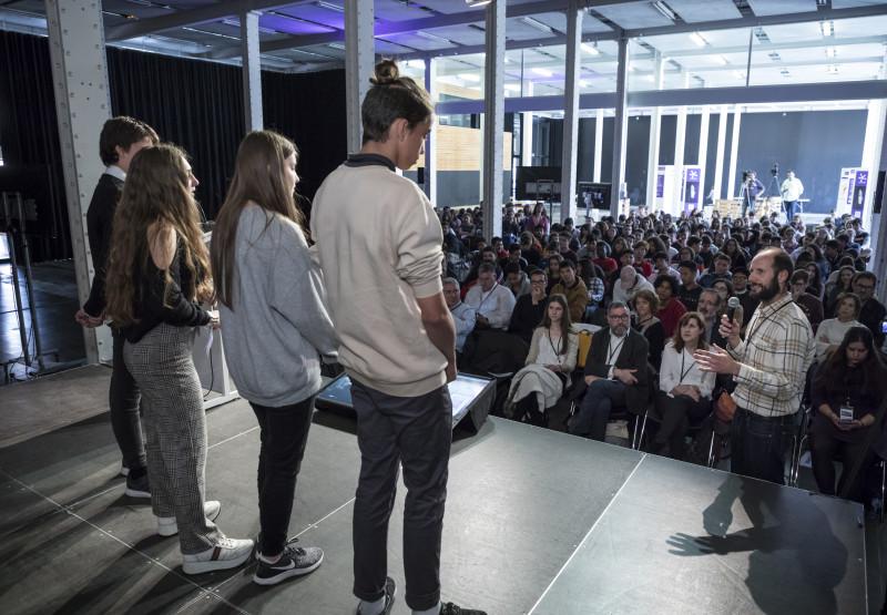 Acte de lliurament de premis del Repte Barcelona Dades Obertes 2019.